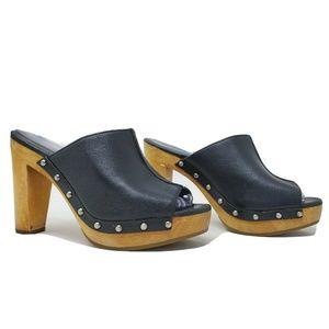 Ugg Skyler High Heel Platform Clogs